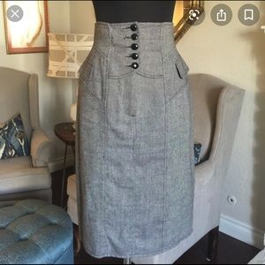 Nanette Lepore High Waist corset skirt